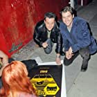 Scott Bailey and Josh Roman at an event for Bank Roll (2012)