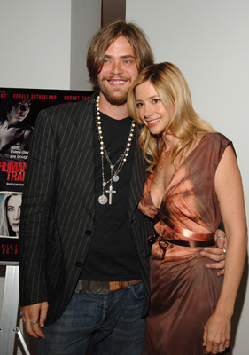 Mira Sorvino and Christopher Backus at an event for Human Trafficking (2005)