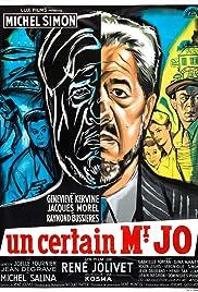 Un certain Monsieur Jo Poster