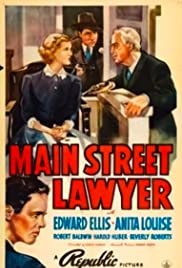 Main Street Lawyer Poster