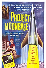 Project Moon Base (1953) Poster - Movie Forum, Cast, Reviews
