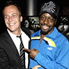 Wyclef Jean and Asger Leth at an event for Ghosts of Cité Soleil (2006)