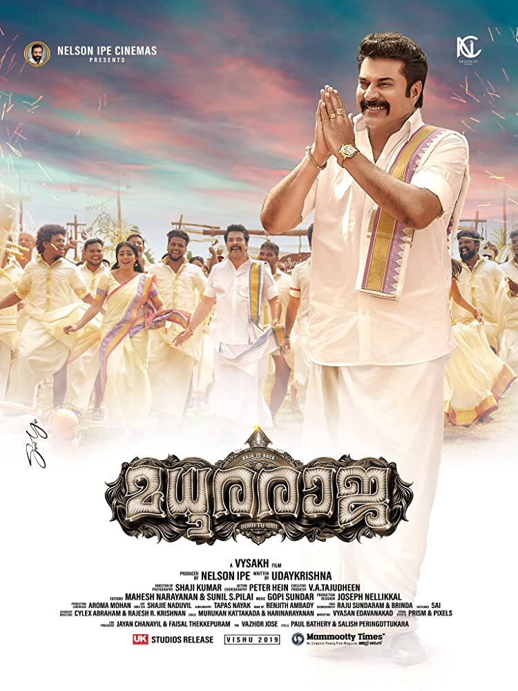 Madhuraraja (2019) 720p Hindi Dubbed WEBRip x264