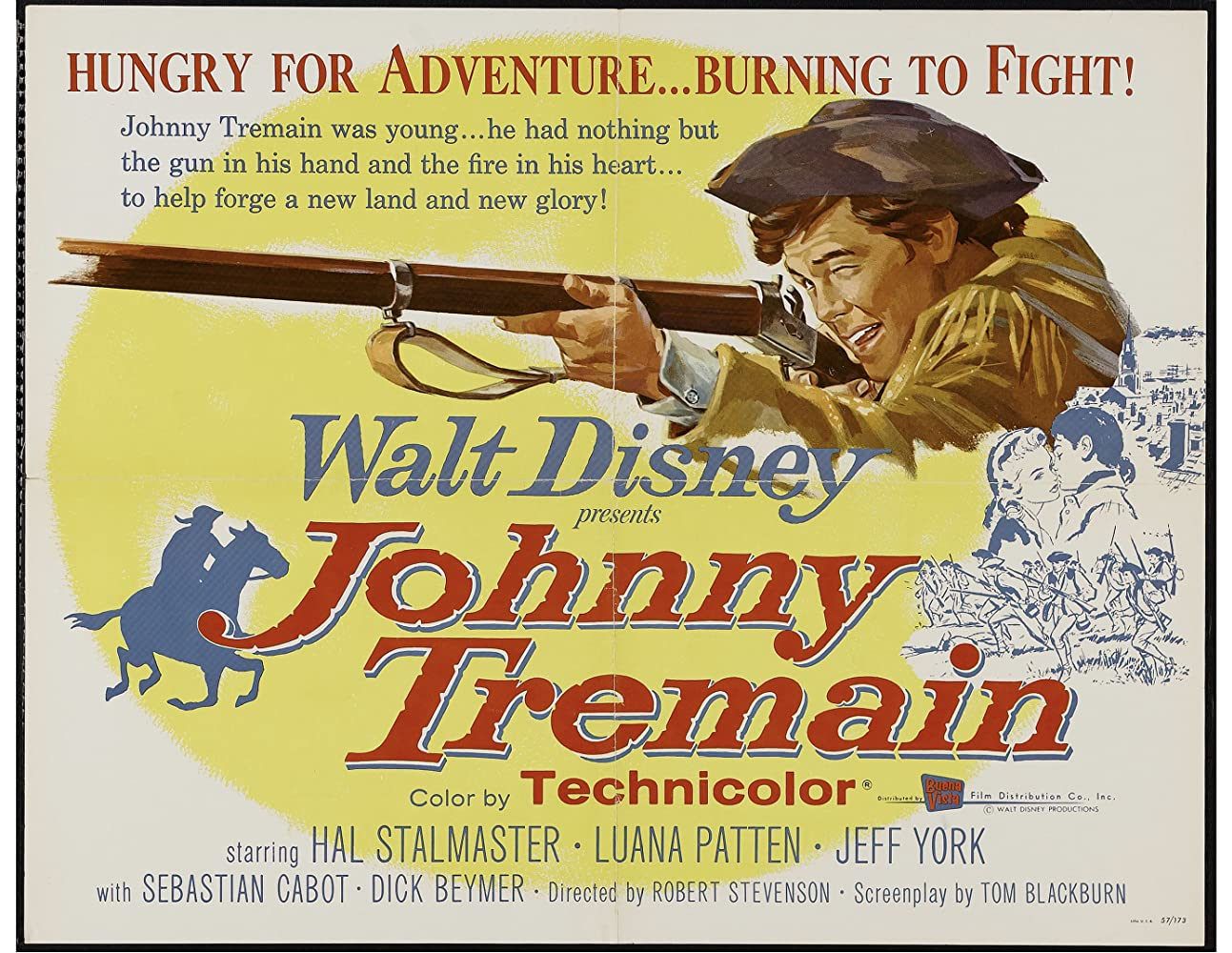 Johnny Tremain (1957)