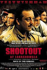 Amitabh Bachchan, Sanjay Dutt, Abhishek Bachchan, Arbaaz Khan, and Sunil Shetty in Shootout at Lokhandwala (2007)