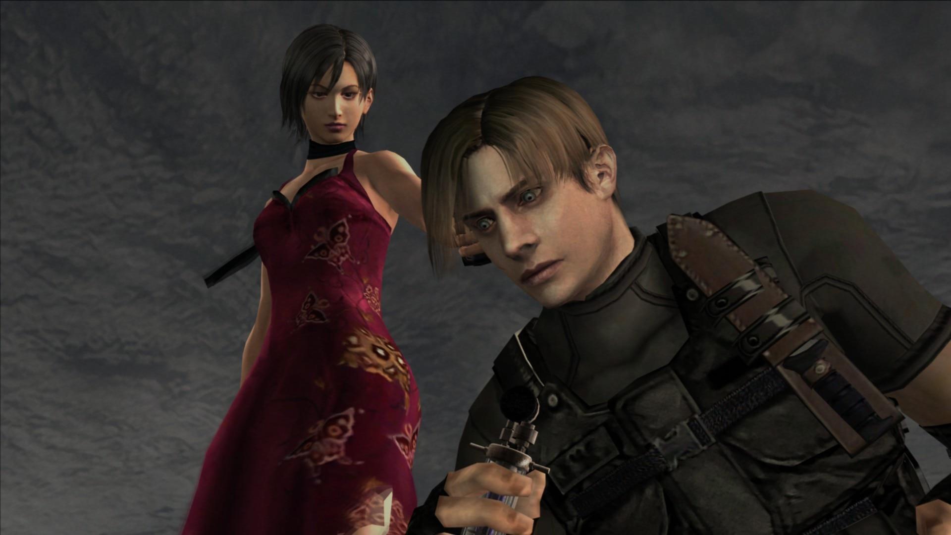 Sally Cahill and Paul Mercier in Biohazard 4 (2005)