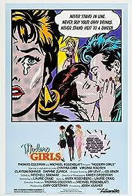 Virginia Madsen, Cynthia Gibb, Daphne Zuniga, and Clayton Rohner in Modern Girls (1986)