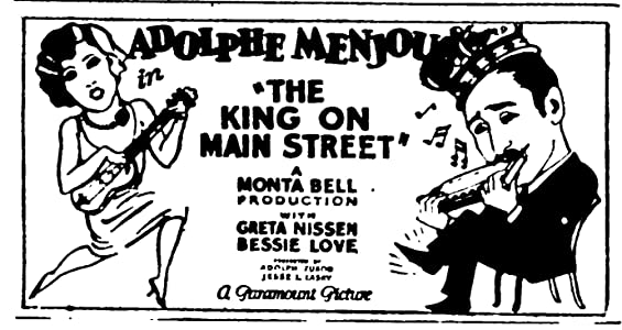 Best downloading movies The King on Main Street by Clarence G. Badger [480x640]