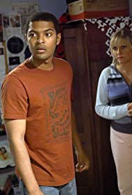 Noel Clarke and Camille Coduri in Doctor Who (2005)