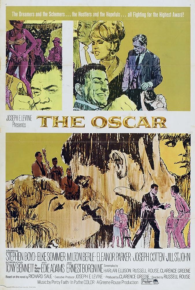 Ernest Borgnine, Stephen Boyd, Joseph Cotten, Jill St. John, Tony Bennett, Edie Adams, Eleanor Parker, and Elke Sommer in The Oscar (1966)