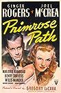 Primrose Path (1940) Poster