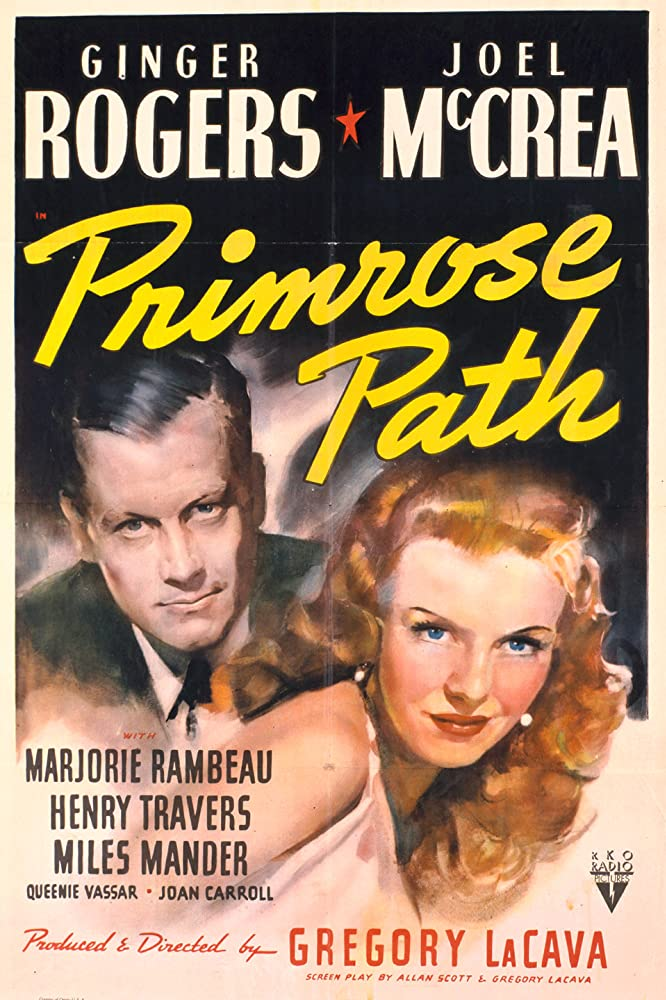 Ginger Rogers and Joel McCrea in Primrose Path (1940)
