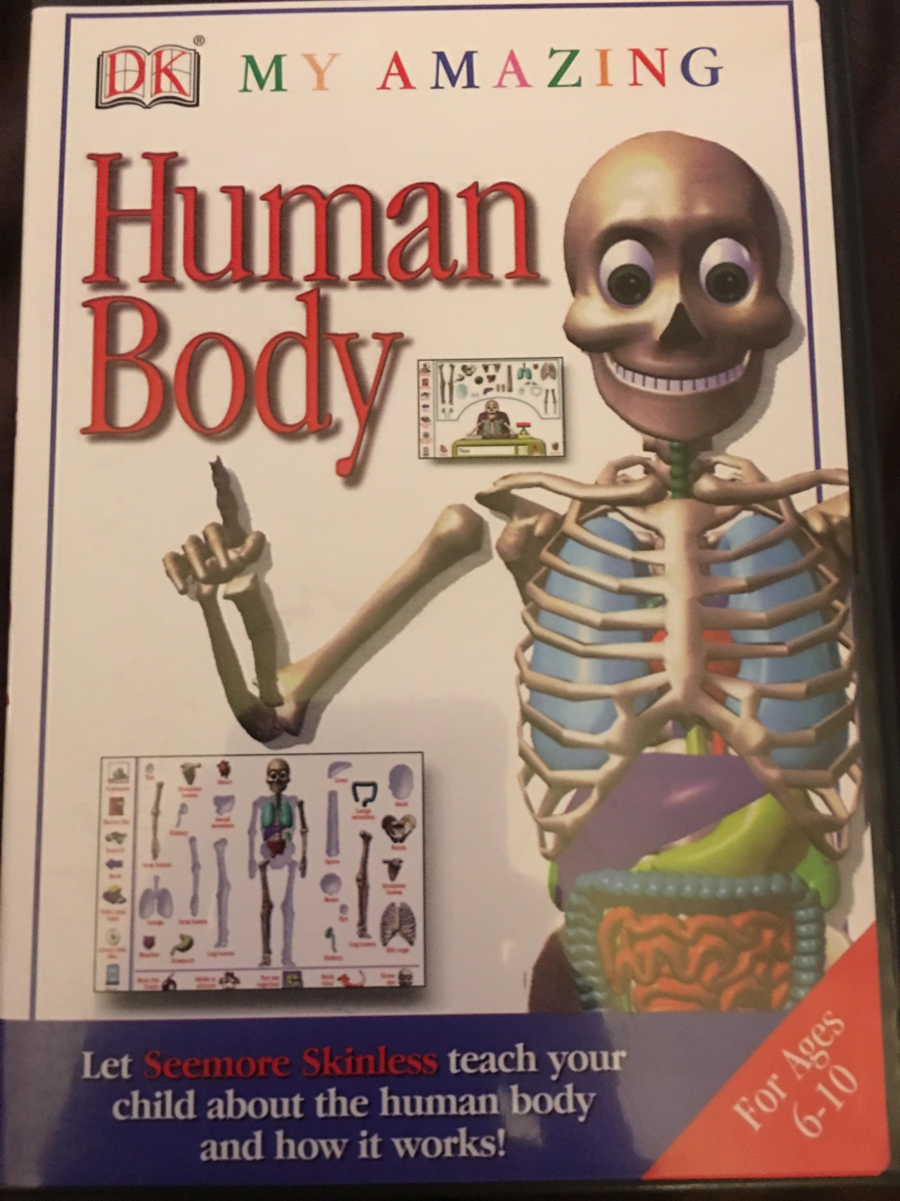 My Amazing Human Body Video Game 1997 Imdb