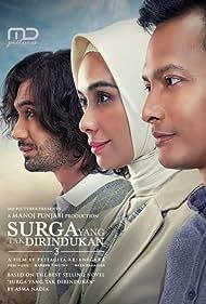 Fedi Nuril, Marsha Timothy, and Reza Rahadian in Surga Yang Tak Dirindukan 3 (2021)