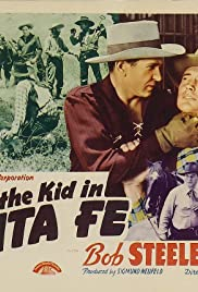 Billy the Kid in Santa Fe Poster
