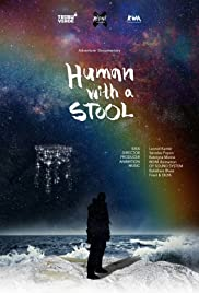 Human with a Stool Poster