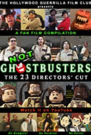Not Ghostbusters: The 23 Directors' Cut Poster