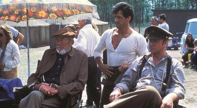 Sylvester Stallone, Michael Caine, and John Huston in Victory (1981)
