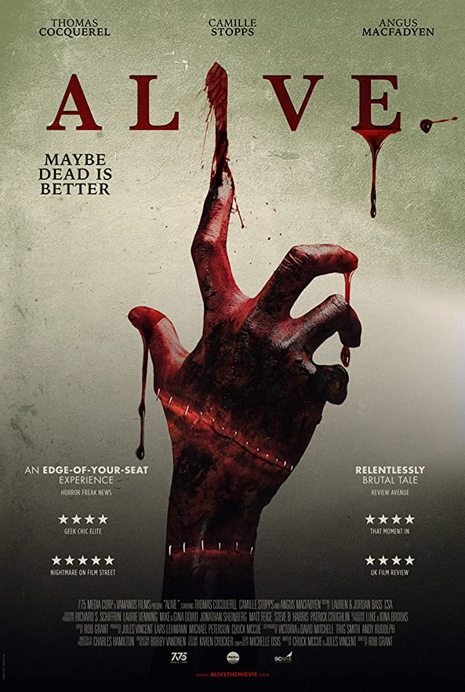 Alive 2019 English 300MB HDRip 480p Download