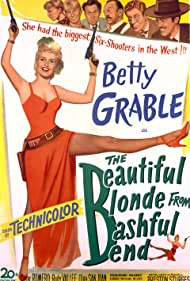 Sterling Holloway, Hugh Herbert, Betty Grable, Cesar Romero, El Brendel, Porter Hall, and Rudy Vallee in The Beautiful Blonde from Bashful Bend (1949)