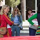 Emma Stone, Andrea Riseborough, and Mickey Sumner in Battle of the Sexes (2017)