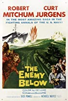 The Enemy Below (1957) Poster
