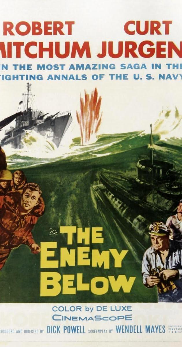 The Enemy Below (1957) - Goofs - IMDb