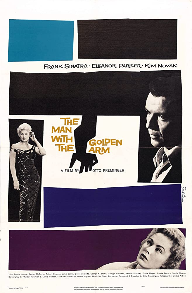 Frank Sinatra, Kim Novak, and Eleanor Parker in The Man with the Golden Arm (1955)