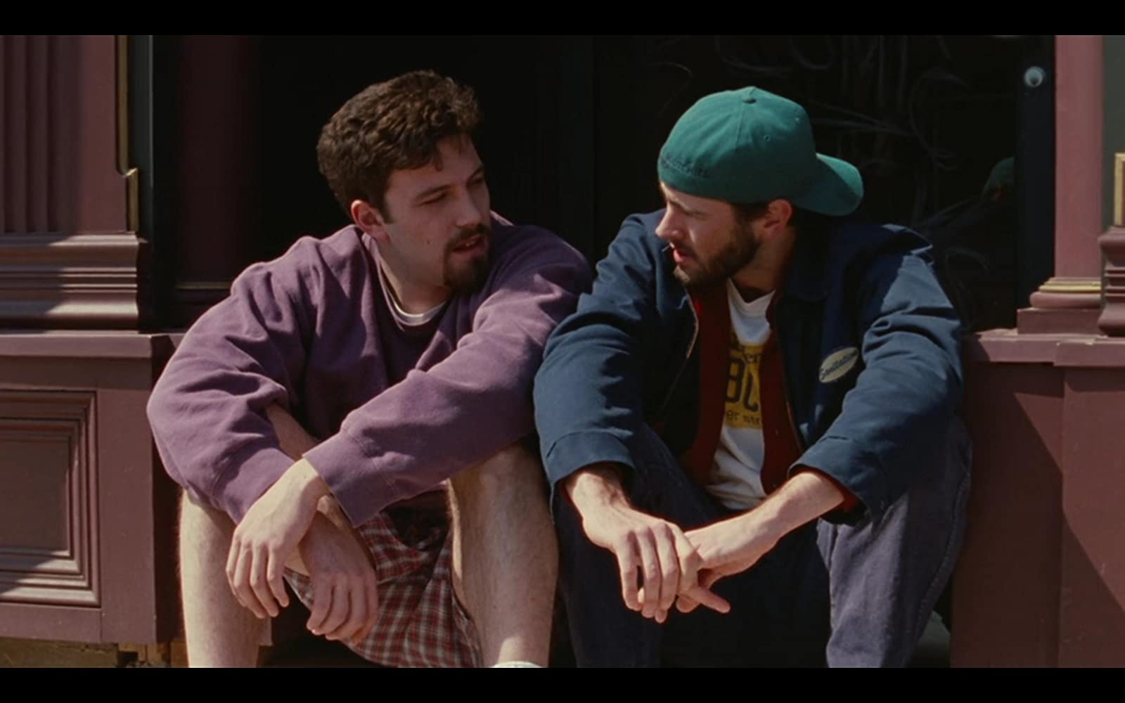 Ben Affleck and Jason Lee in Chasing Amy (1997)