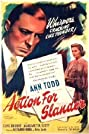 Action for Slander (1937) Poster