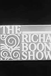 The Richard Boone Show Poster