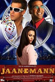 Preity Zinta, Salman Khan, and Akshay Kumar in Jaan-E-Mann: Let's Fall in Love... Again (2006)