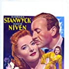 David Niven and Barbara Stanwyck in The Other Love (1947)