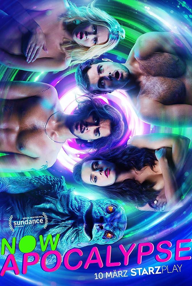 Roxane Mesquida, Beau Mirchoff, Avan Jogia, and Kelli Berglund in Now Apocalypse (2019)