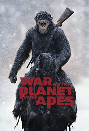 War of the planet of the Apes Poster