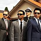 Steve Mouzakis, Nick Farnell, Frank Lotito, and Sachin Joab in Big Mamma's Boy (2011)