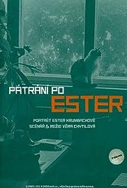 Pátrání po Ester Poster