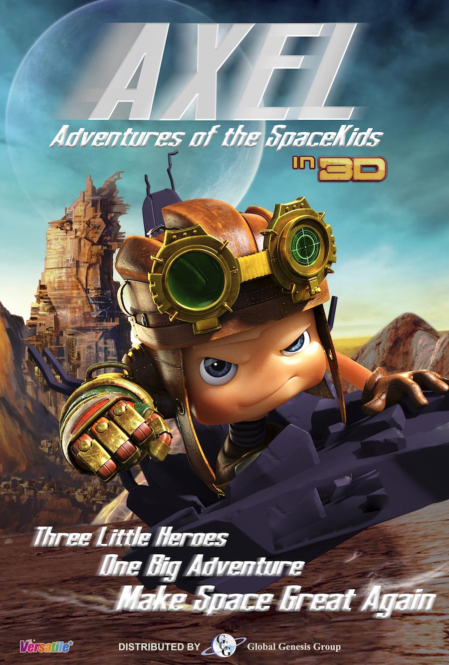 Axel 2: Adventures of the Spacekids (2017) - IMDb