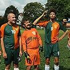 Lazar Ristovski, Danilo Mihajlovic, Jovan Ristovski, and Vukasin Jovanovic in Drim tim (2021)