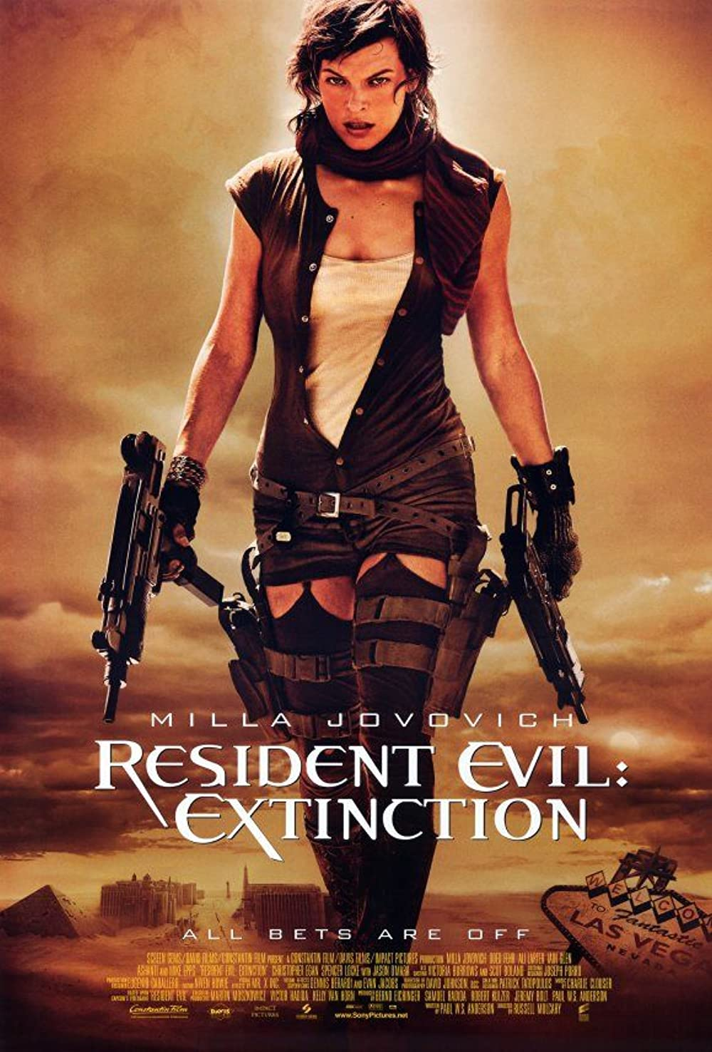 Resident Evil: Extinction 2007 Hindi Dual Audio 350MB BluRay ESubs Download