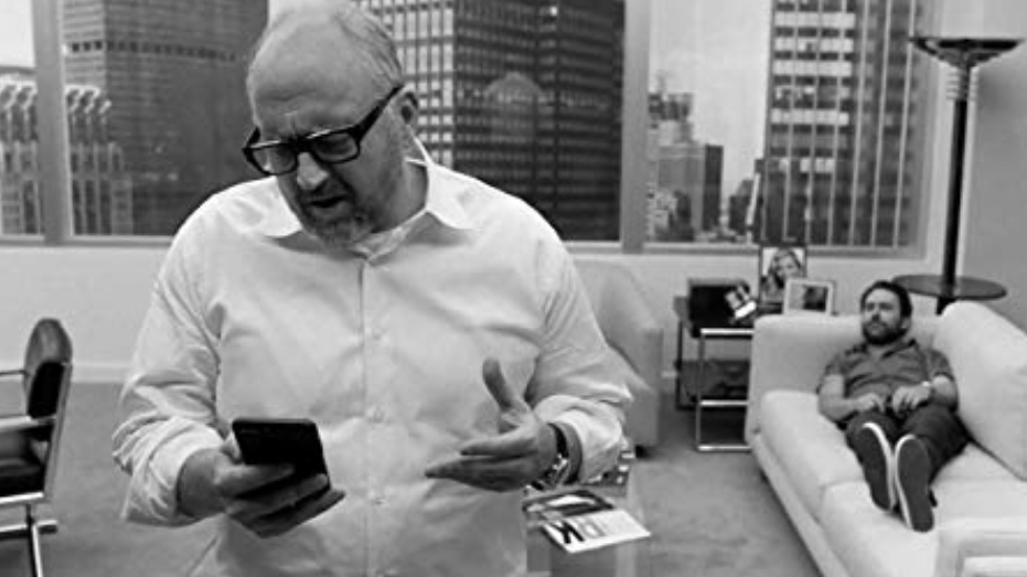Louis C.K. and Charlie Day in I Love You, Daddy (2017)