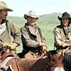 Kevin Costner, Robert Duvall, and Diego Luna in Open Range (2003)