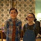 Nick James and Maddie Holliday in Hank Zipzer (2014)