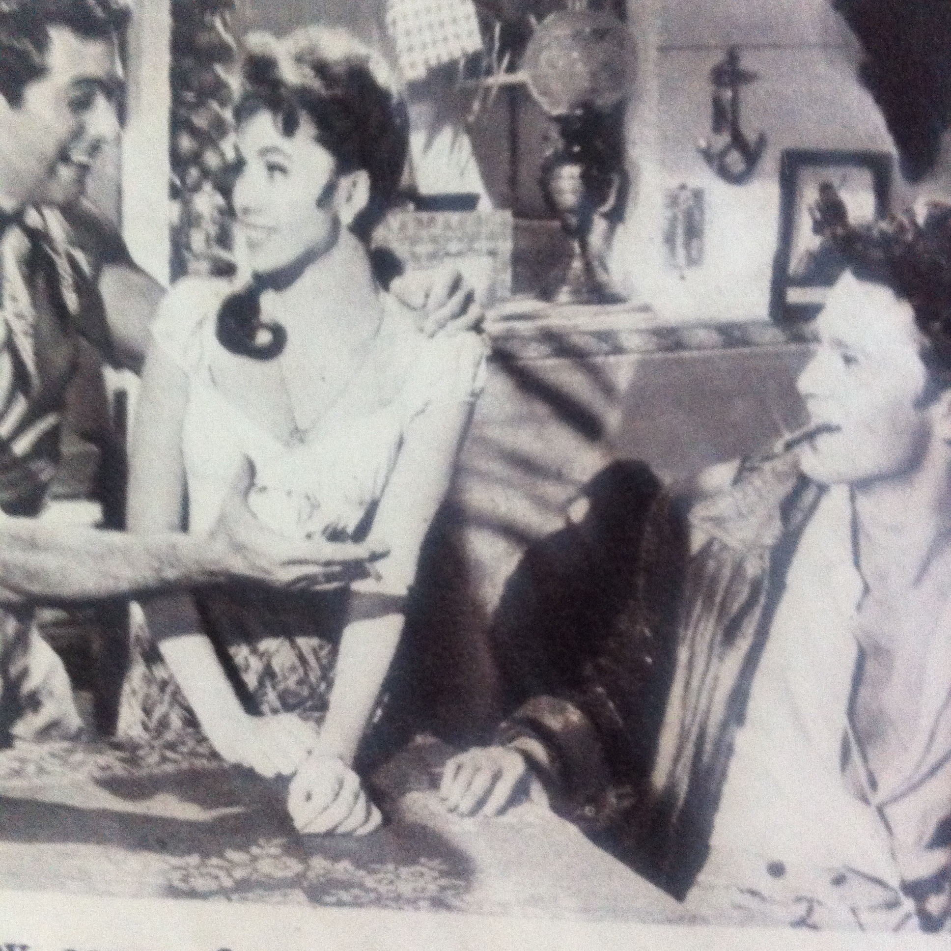 Jocelyn Lane, Jeremy Spenser, and Frankie Vaughan in Wonderful Things (1958)