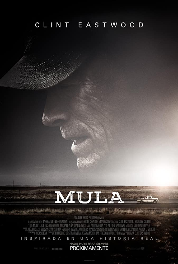 The Mule (2018) | Crime Drama Film Produced and Directed by Clint Eastwood