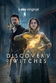 Matthew Goode and Teresa Palmer in A Discovery of Witches (2018)