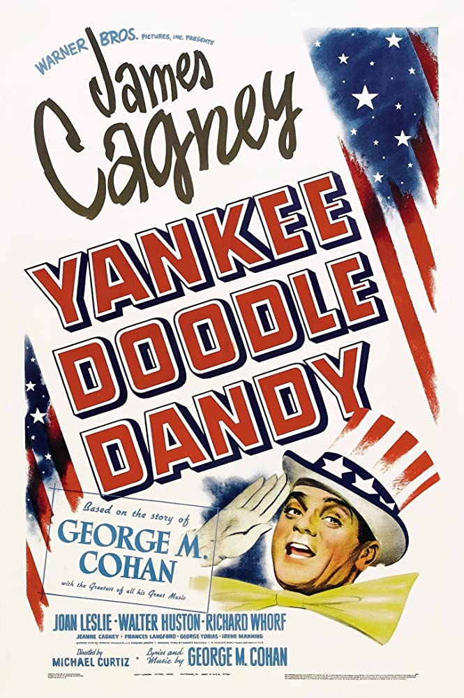 James Cagney in Yankee Doodle Dandy 1942