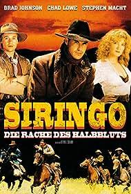 Crystal Bernard, Chad Lowe, and Brad Johnson in Siringo (1995)