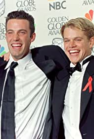 Ben Affleck and Matt Damon in The 55th Annual Golden Globe Awards 1998 (1998)