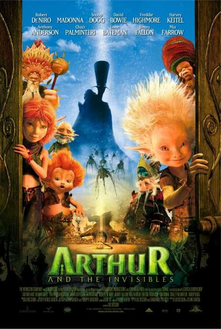 Arthur And The Invisibles 2006 Dual Audio [English+Hindi] BluRay 380MB